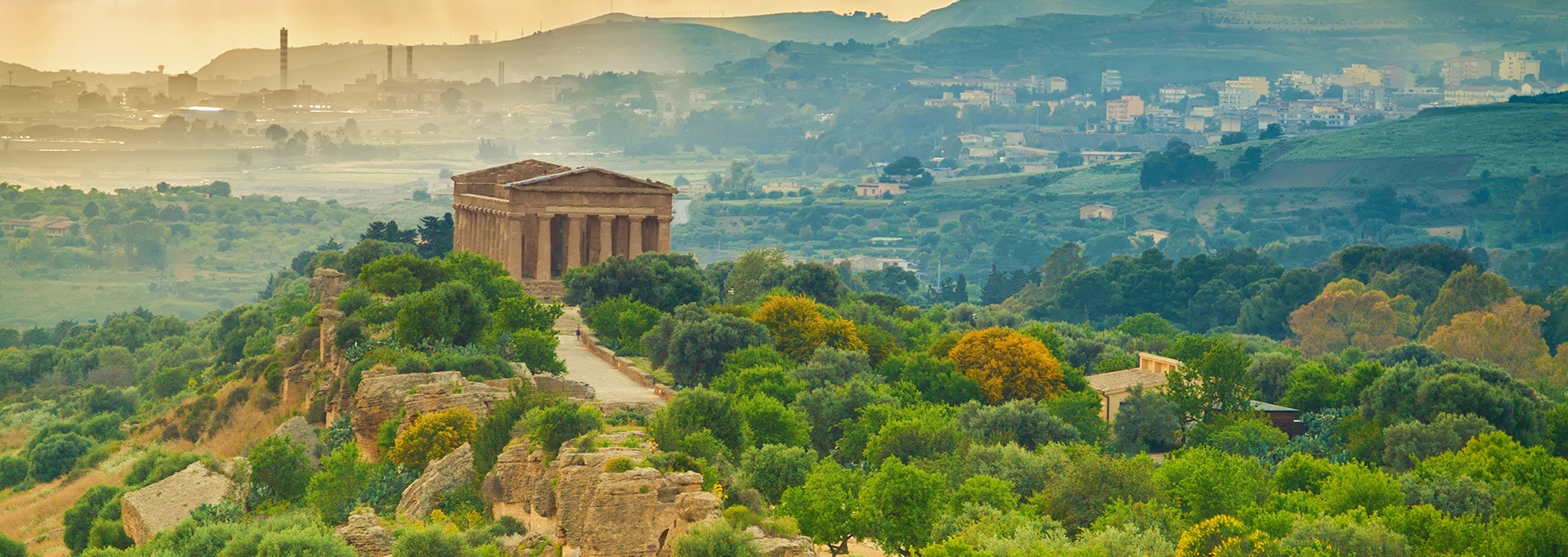Valley of Temples near Agrigento | jewish Heritage Travel